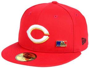 New Era Cincinnati Reds Metal Man 59FIFTY Cap