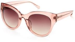 Linda Farrow LFL/393/16 Translucent Rose XL Cat Eye Sunglasses