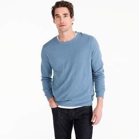 J.Crew Cotton-cashmere piqué crewneck sweater