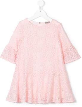 Ermanno Scervino lace frill dress