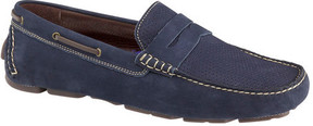 Johnston & Murphy Men's Gibson Perf Penny Driving Moc