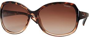 Safilo USA Polaroid F 8404 Polarized Rectangle Sunglasses