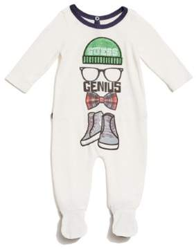 GUESS Boy's Long-Sleeve Bodysuit (0-12M)