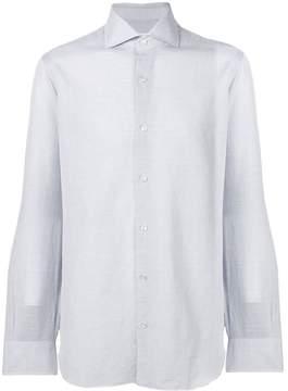 Barba plain button-down shirt