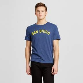 Awake Men's San Diego Electric T-Shirt - Navy