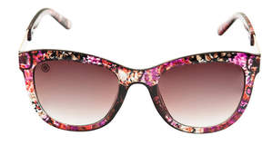 Nicole Miller Nicole By Full Frame Square UV Protection Sunglasses-Womens