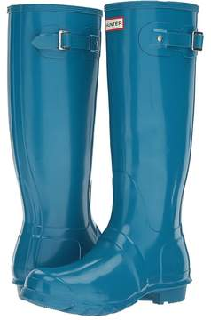 Hunter Original Tall Gloss Rain Boots Women's Shoes
