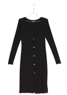 Cosabella | Bari Cardigan Dress | M | Black