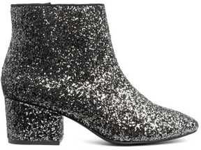 H&M Glittery Ankle Boots
