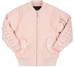 Little Remix Jr. Liana Tech-Satin Bomber Jacket