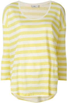 Closed casual striped jumper