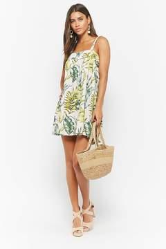 Forever 21 I The Wild Tropical Print Dress