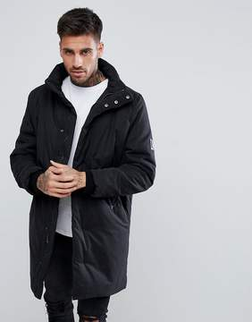 Religion Parka With Zip Neck