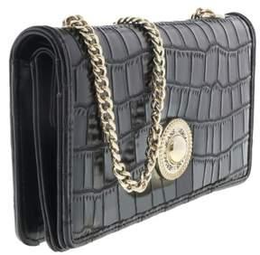 Versace EE3VQBPG3 E899 Black Wallet On Chain