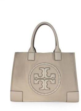 Tory Burch Ella Stud Logo Tote - FRENCH GREY - STYLE