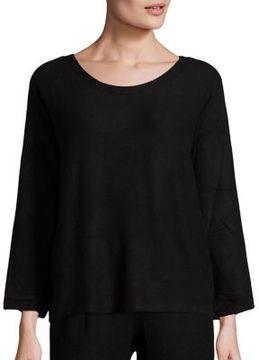 Eberjey Sweater Weather Bracelet Sleeve T-Shirt