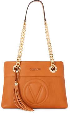 Mario Valentino Valentino By Chivas Whiskey Kali Leather Shoulder Bag