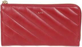 A.P.C. Portefeuille Lise Zip Around Wallet