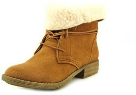 American Rag Davey Round Toe Synthetic Ankle Boot.