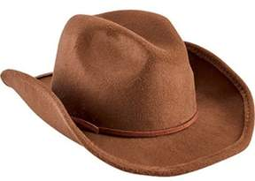 San Diego Hat Company Unisex Children's Faux Wool Cowboy Hat With Trim Ctk3549.