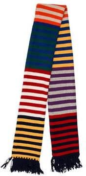 Jack Spade Striped Wool Scarf