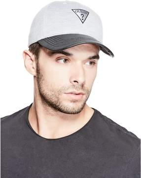 GUESS Men's Flat Brim Logo Baseball Hat