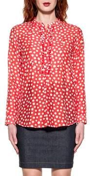 Bagutta Women's Red Cotton Shirt.