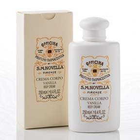 Santa Maria Novella Vanilla Body Cream by 250ml Cream)