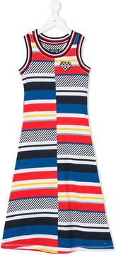 Tommy Hilfiger Junior colour block dress