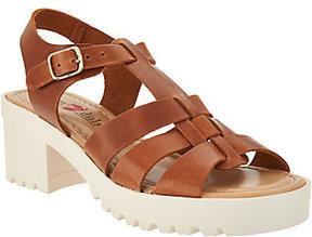 White Mountain Seven Dials Italian Leather Sandals