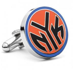 Ice New York Knicks NYK Logo Cufflinks