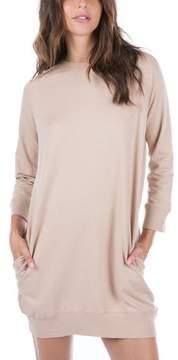 Ragdoll LA SWEATSHIRT DRESS Nude
