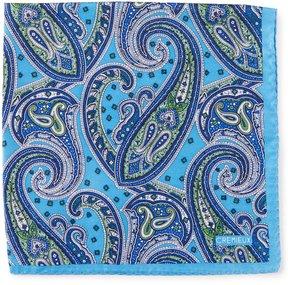 Daniel Cremieux Paisley Silk Pocket Square