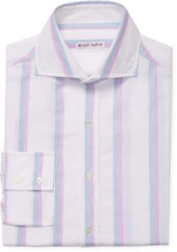 Michael Bastian Men's Striped Cutaway Dress Shirt