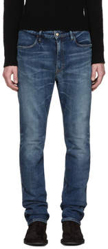 Nonnative Indigo Tapered Dweller Jeans