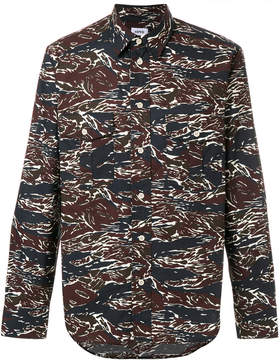 Aspesi printed long sleeved shirt