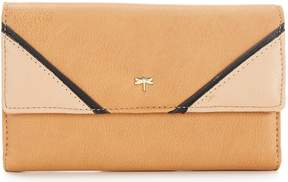 Kate Landry Colorblock Checkbook Wallet