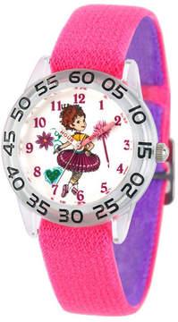 Disney Fancy Nancy Girls Pink Strap Watch-Wds000587
