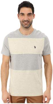 U.S. Polo Assn. Cut and Sewn Wide Stripe T-Shirt Men's T Shirt