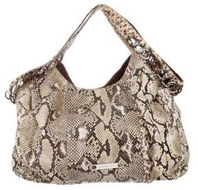 Michael Kors Python Chain Hobo - ANIMAL PRINT - STYLE