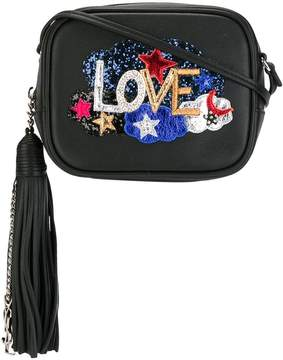 Saint Laurent Love Blogger crossbody bag - BLACK - STYLE