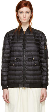 Moncler Black Down Gauffre Jacket