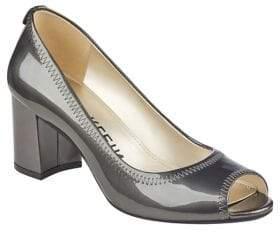 Anne Klein Slip-On Patent Leather Pumps