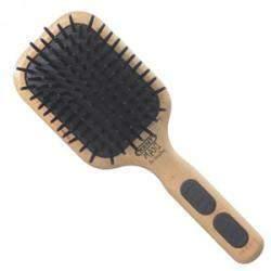 Kent Airhedz Maxi Detangling Phat Pin Beechwood Handle Hairbrush - AH3