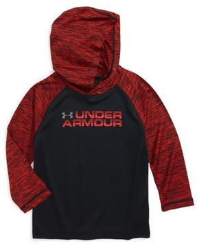 Under Armour Toddler Boy's Wordmark Hooded T-Shirt