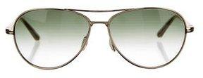 Dita Titanium Aviator Sunglasses