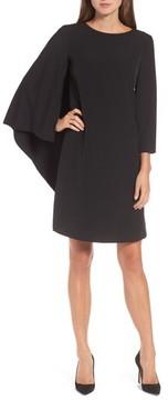Anne Klein Women's Cape Sheath Dress
