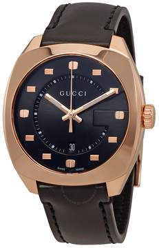 Gucci GG2570 Black Dial Men's Swiss Quartz Watch