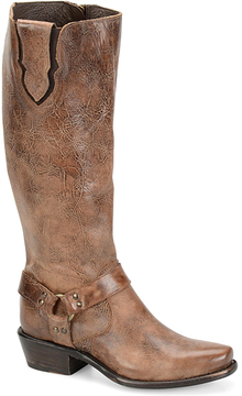 Sonora Tan London Leather Cowboy Boot