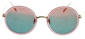 Gentle Monster Gold Fish 2 Mirrored Sunglasses